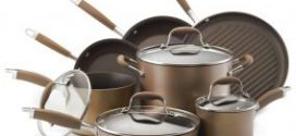 Anolon Advanced Bronze Hard Anodized Nonstick 11-Pc Cookware Review 2019