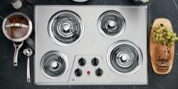 GE JP328SKSS 30 Electric Cooktop – Stainless Steel Review 2019