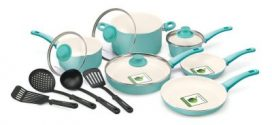 GreenLife Soft Grip Ceramic Non-Stick 14pc Cookware Review 2019