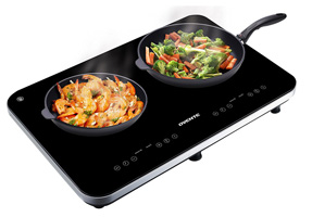 ovente-double-induction-cooktop