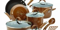 Rachael Ray Cucina Hard Porcelain Enamel Nonstick 12-Pc Cookware Set Review 2019