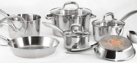 T-Fal Stainless Steel Cookware Set, Pots and Pans with Copper-Bottom, 13-Piece, Silver, Model C836SD Review 2019