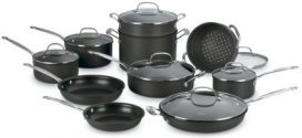 Cuisinart Chef's Classic 66-17N Nonstick Hard Anodized 17-Pc Set Review 2019