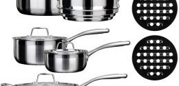 Duxtop Whole Clad Tri-ply Stainless Steel Cookware SSC-14PC Review 2019