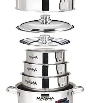 MAGMA NESTABLE 10 PIECE INDUCTION COOKWARE