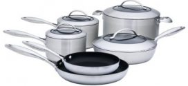 Scanpan CTX Stainless Steel Nonstick 10-Pc Cookware Review 2019