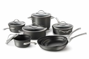 Calphalon Contemporary Hard-Anodized Aluminum Nonstick 12-Pc Cookware Set Review 2019
