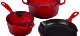 Le Creuset 5 Piece Signature Enameled Cast Iron Cookware Set Review 2019